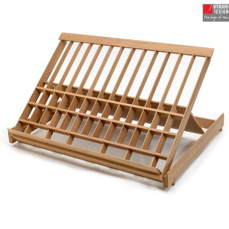 Leggio di design in legno Made in Italy