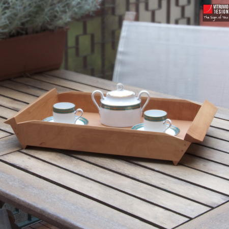 Wooden serving tray | Made in Italy