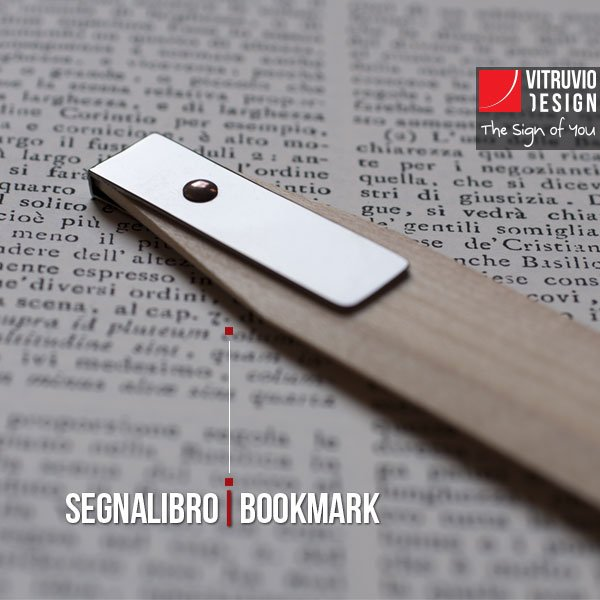Wooden bookmark | Made in Italy