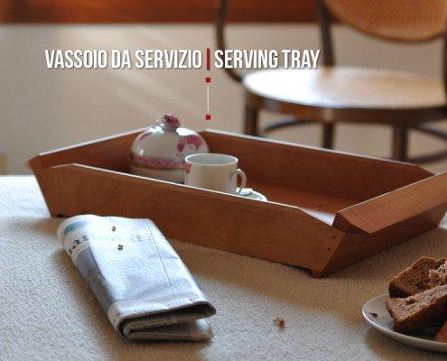 Vassoio da portata di design Made in Italy