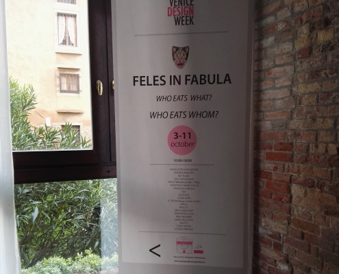 Venice Design week 2015 - Feles in fabula - Venice