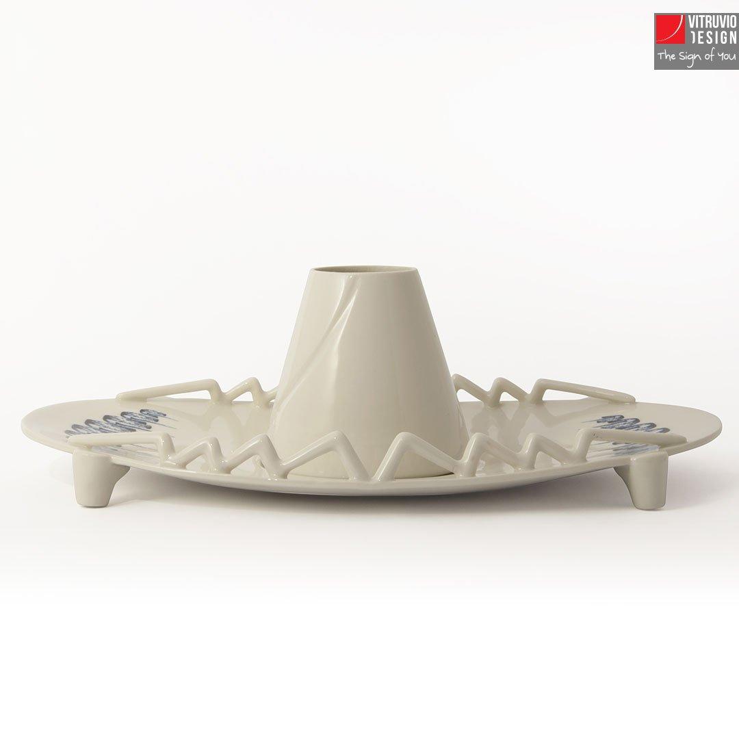 Alzata in porcellana di Capodimonte | Made in Italy