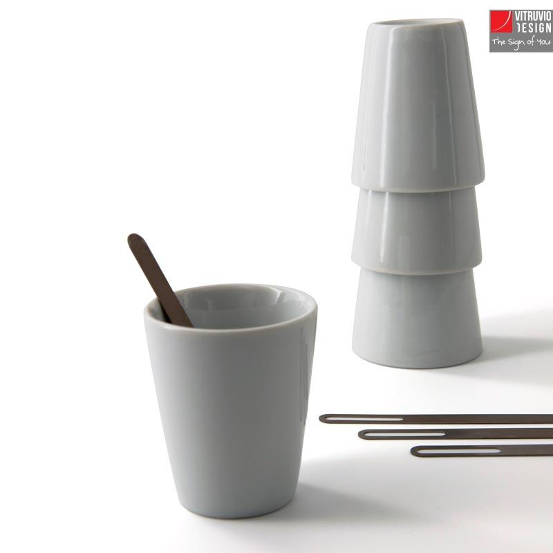 Set tazzine da caffè in porcellana | Made in Italy