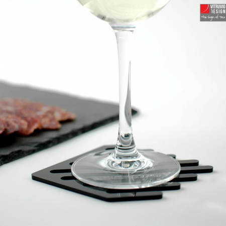 Sottobicchieri di design in plex | Made in Italy